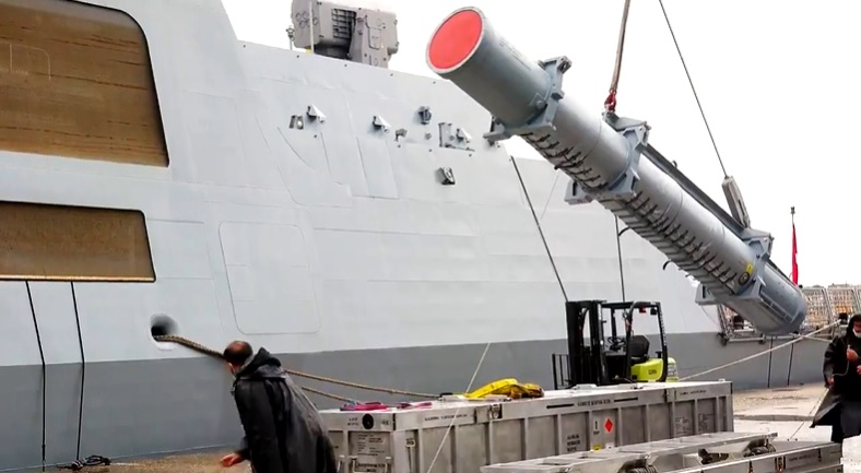 ATMACA (Accipiter) all weather, long range, precision strike, anti-ship cruise missile.