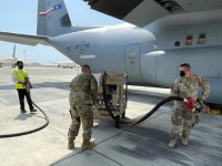 US Air Force Demonstrates Conversion of Jet A-1 to JP-8 in Saudi Arabia