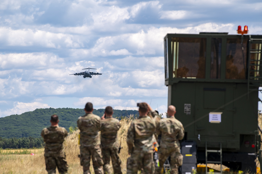 US Air National Guard Deploy Mobile Air Traffic Control at Exercise Patriot 21