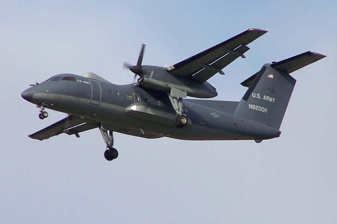 US Army DHC-8/RO-6A Airborne Reconnaissance Low-Enhanced (ARL-E)