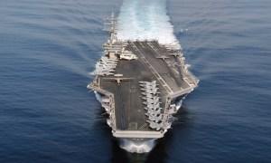 U.S. Navy Nimitz Class Nuclear-powered Aircraft Carrier USS Ronald Reagan (CVN 76)