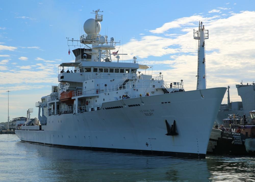 USNS Maury (T-AGS-66) oceanographic survey ship