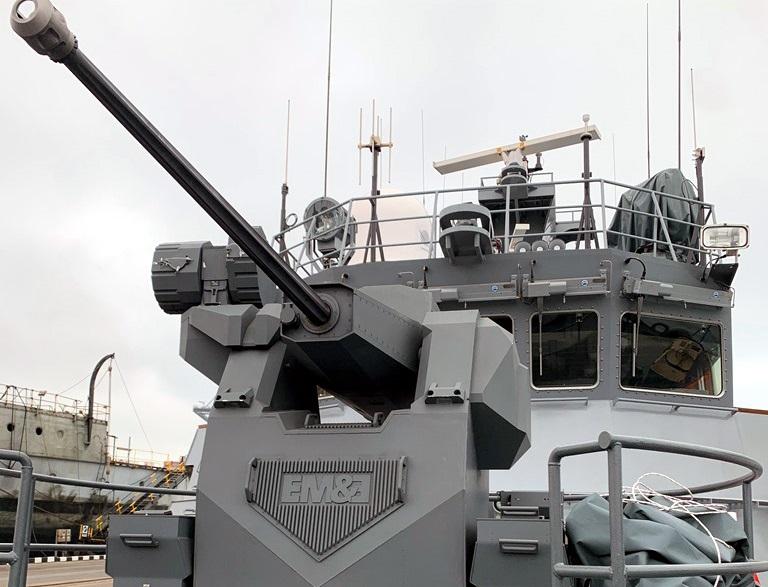 ESCRIBANO M&E Sentinel 30 Remote Weapon Station