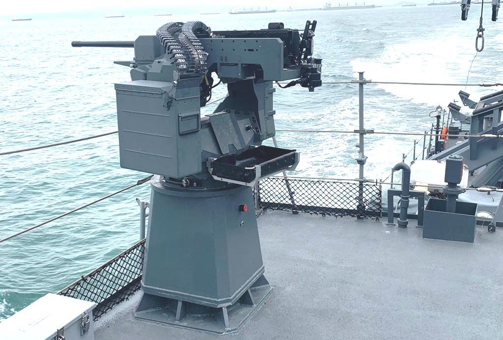 ESCRIBANO M&E Sentinel 2.0 Remote Weapon Station