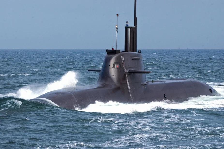 thyssenkrupp Marine Systems HDW Class 212A Submarine