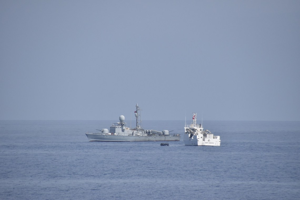 The exercises focused on developing both nations' ability to conduct maritime security operations, further enhancing cooperation between U.S. and Tunisian forces in order to increase maritime safety and security in the Mediterranean.