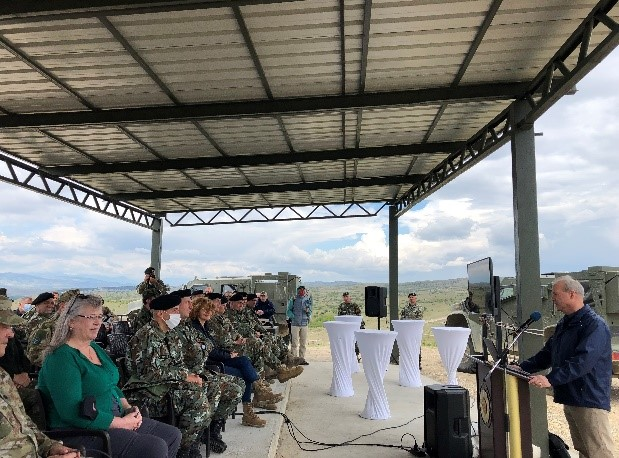 Joint Light Tactical Wheeled Vehicles (JLTV) demonstrations for North Macedonia Minister of Defense