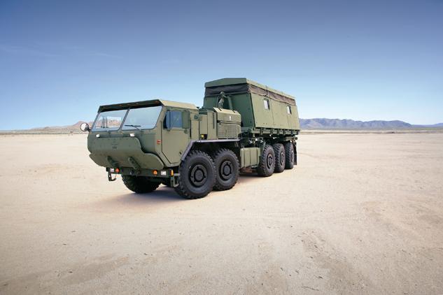 Oshkosh Defense Logistics Vehicle System Replacement (LVSR)