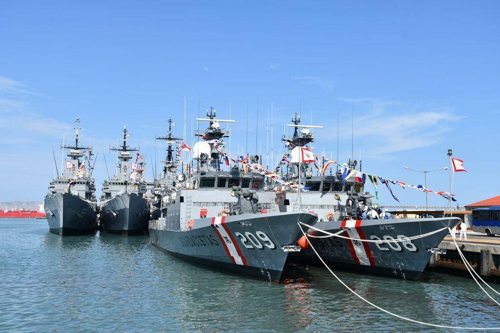 The Peruvian Navy Río Pativilca Class patrol boats PPMM 208 BAP