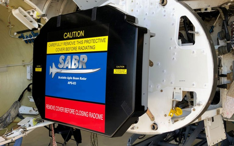 Northrop Grumman AN/APG-83 Scalable Agile Beam Radar (SABR)