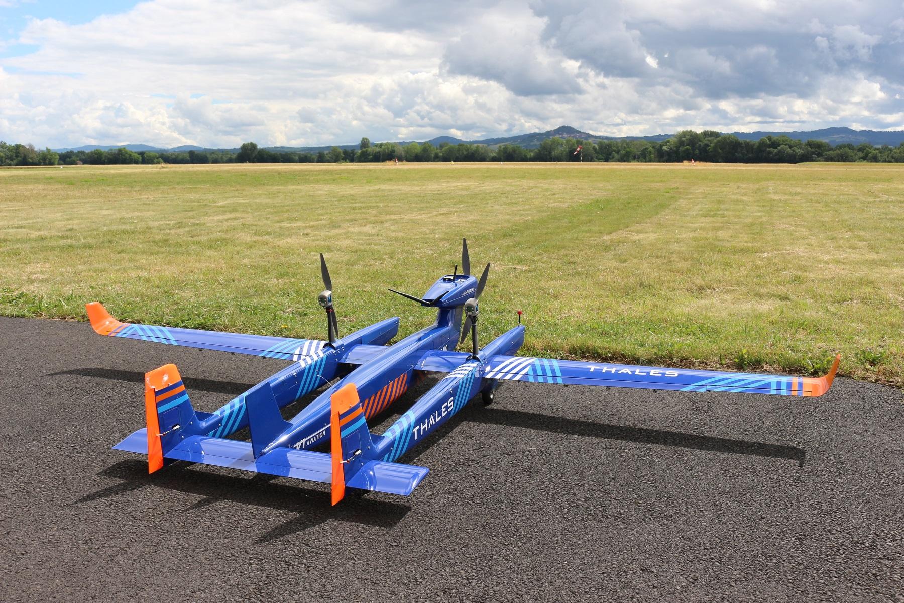 UAS 100 long-range unmanned air system