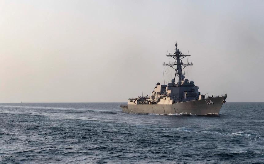 Arleigh Burke-class destroyer USS Ralph Johnson (DDG-114)