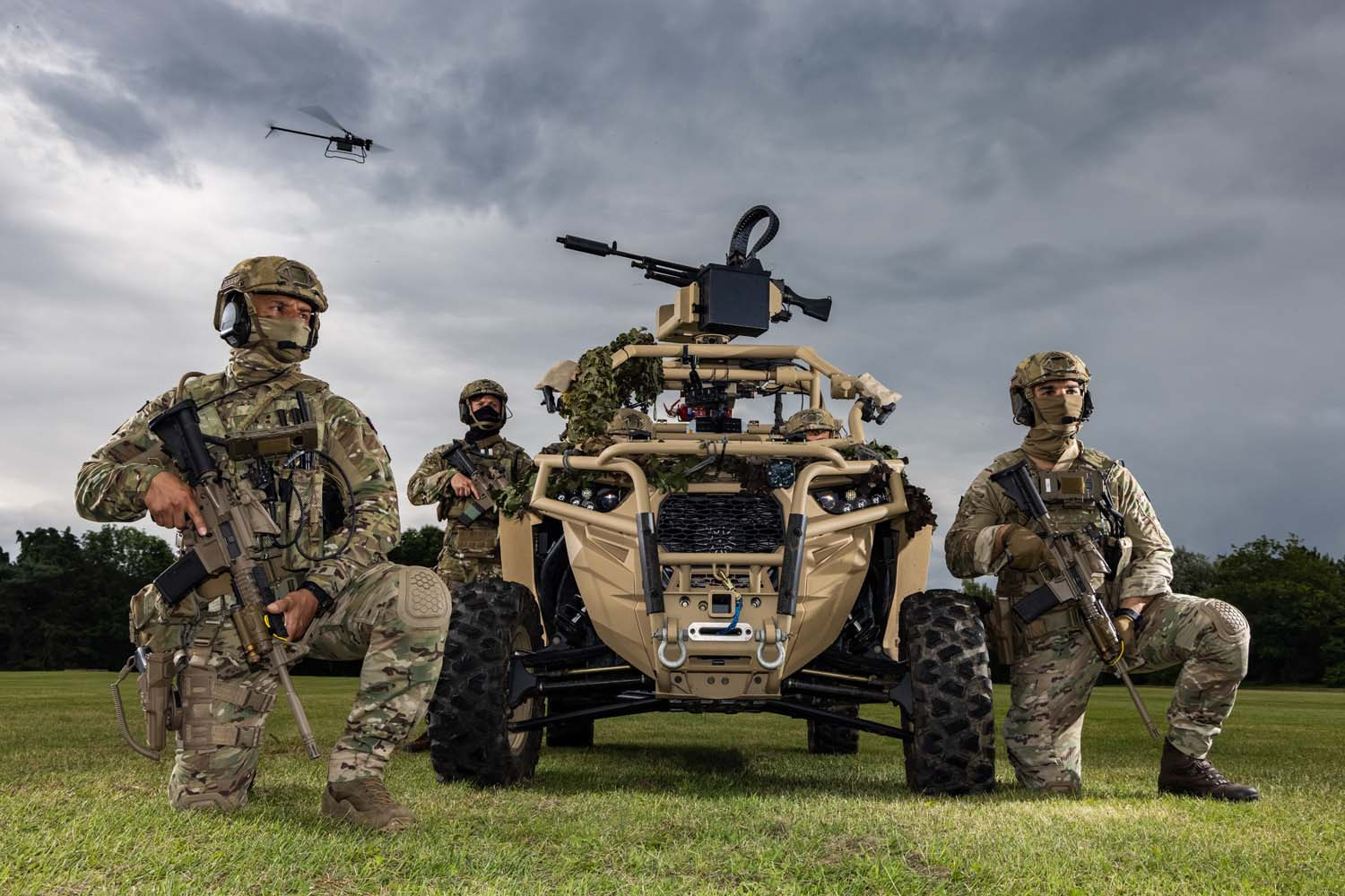 American-made Polaris MRZR-D Ultralight 4x4 Off-roader Tested by Royal Marines