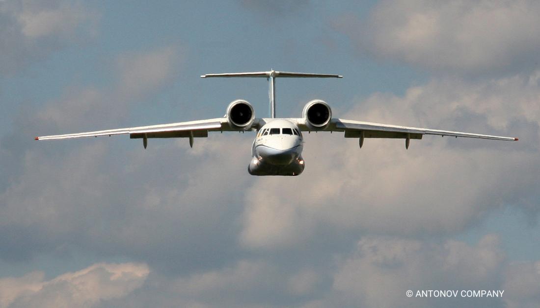 Antonov An-74TK-200 transport aircraft