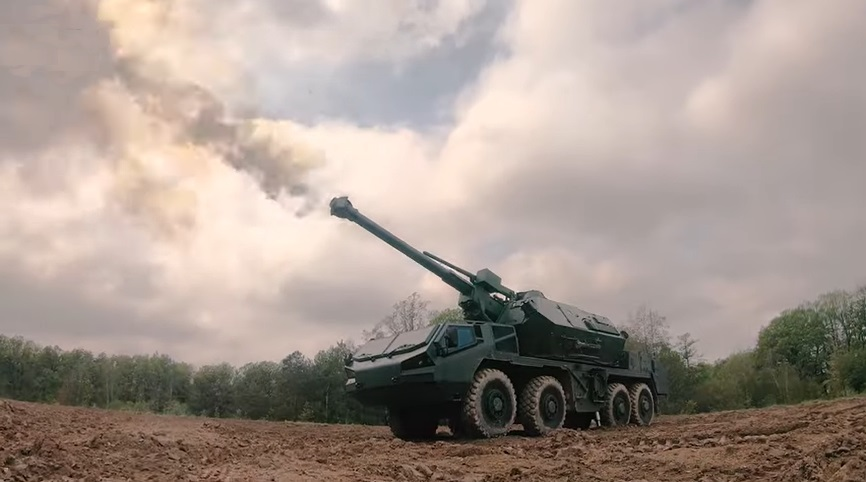 EXCALIBUR ARMY DANA M2 152 mm Self-propelled Howitzer