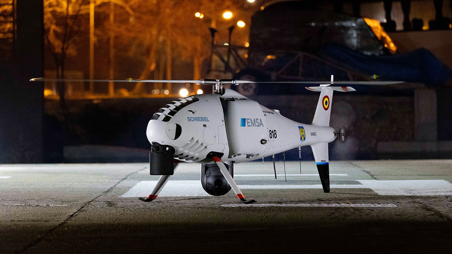 EMSA Awards Schiebel Group Contract to Support Spanish Maritime Safety Agency CAMCOPTER S-100