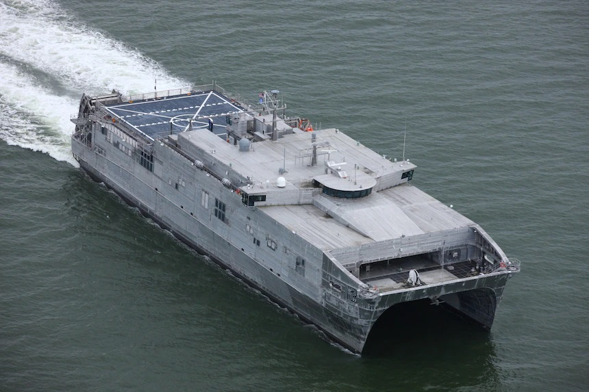 U.S Navy future Spearhead-class Expeditionary Fast Transport (EFP)