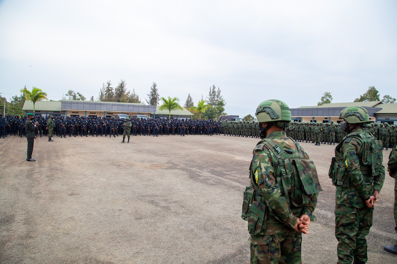 Government of Rwanda Deploys Joint Force to Mozambique