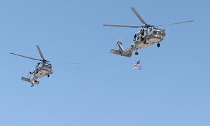 Indian Navy Receives First Two MH-60R Seahawk Utility Maritime Helicopters