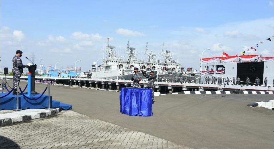 Indonesian Navy Commissions Third Teluk Bintuni-Class Landing Ship Tank