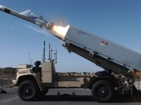 U.S. Marine Corps' Remotely Operated Ground Unit for Expeditionary (ROGUE) Fires vehicle system