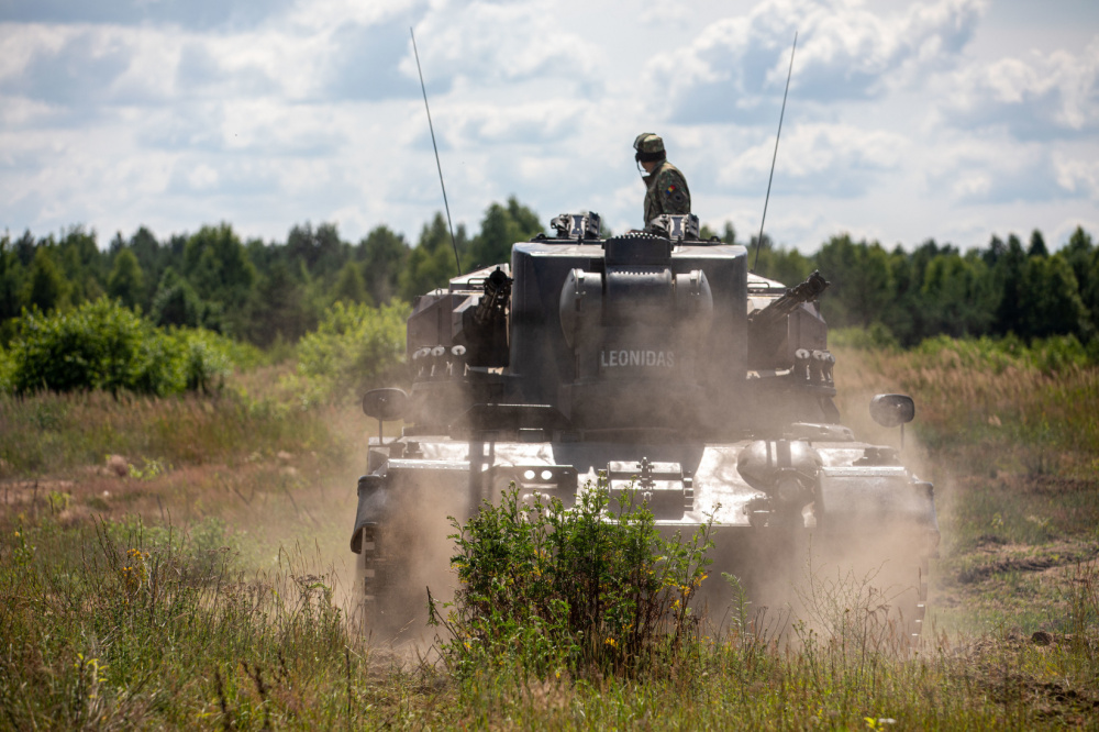 NATO Battle Group Poland Conducts Emergency Deployment Readiness Exercise