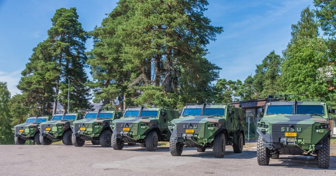Oy Sisu Auto Ab Delivered Sisu GTP 4x4 off-road Vehicles for Finnish Army