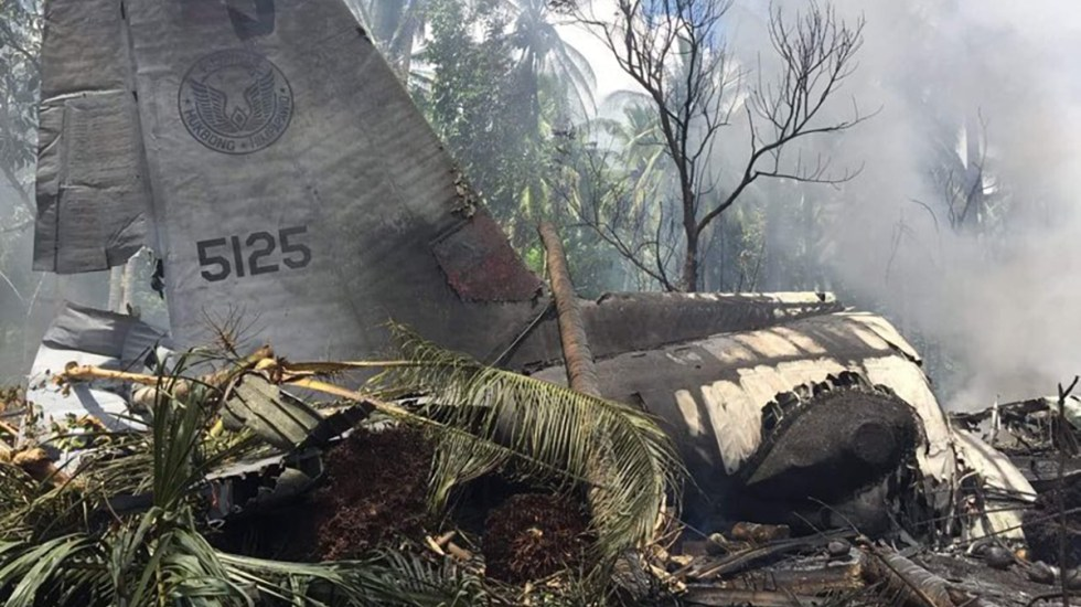 Philippine Air Force Grounds Its C-130 Transport Aircraft Fleet After Sulu Plane Crash