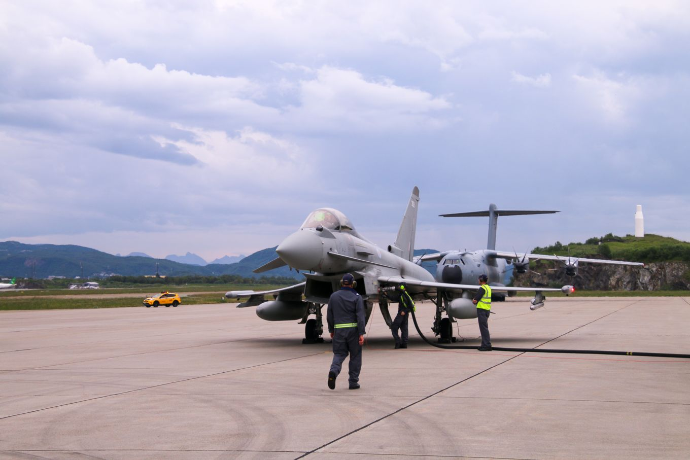 Royal Air Force Typhoons Test Refuelling Concept with Norwegian NATO Allies