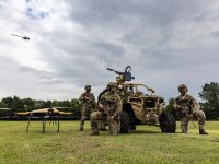 Royal Marines Commandos Operate Drone Swarms In UK Military First