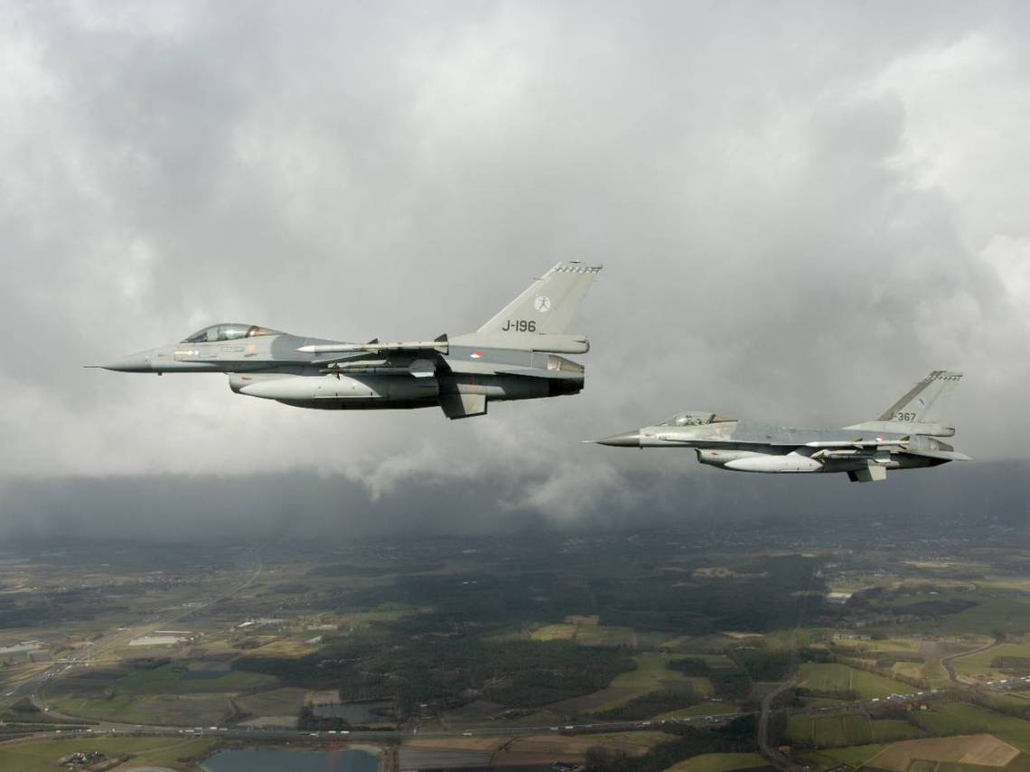 Royal Netherlands Air Force F-16 Fighters