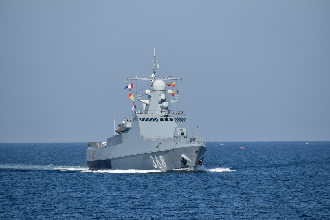 Russian Navy's Project 22160 Patrol Ship