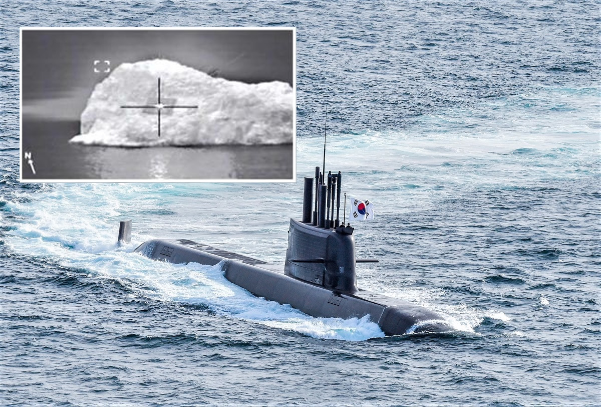 South Korea Conducts Submarine-launched Ballistic Missile Test from ROKN Submarine