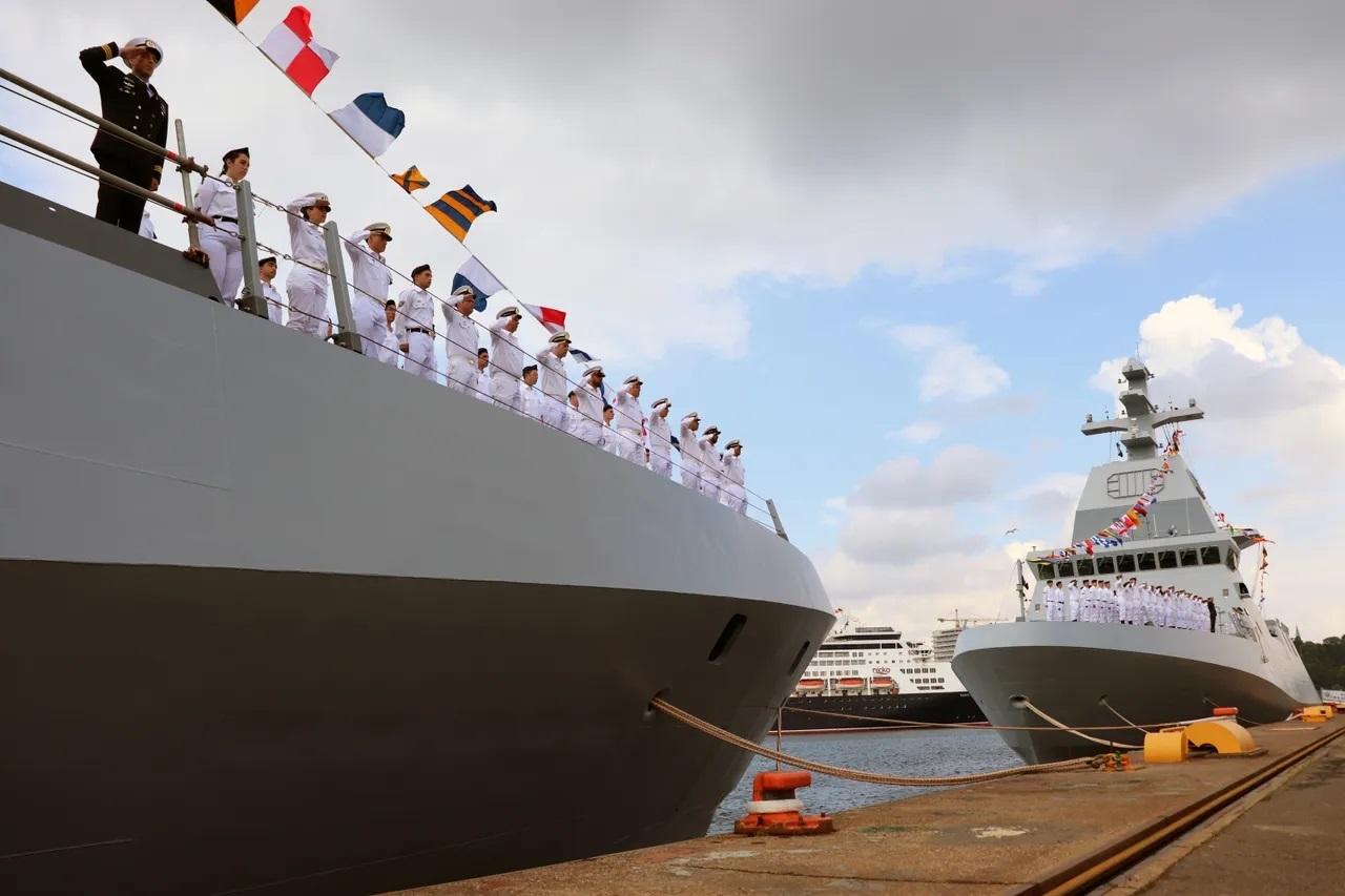 Thyssenkrupp Marine Systems Hands Over Two SA'AR 6 Class Corvettes to Israeli Navy