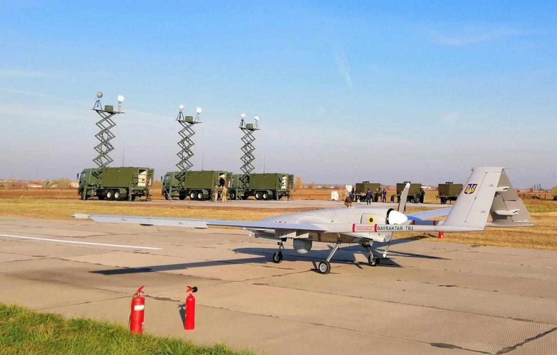 Ukrainian Navy Receives 1st Turkish Bayraktar TB2 Unmanned Combat Aerial Vehicle