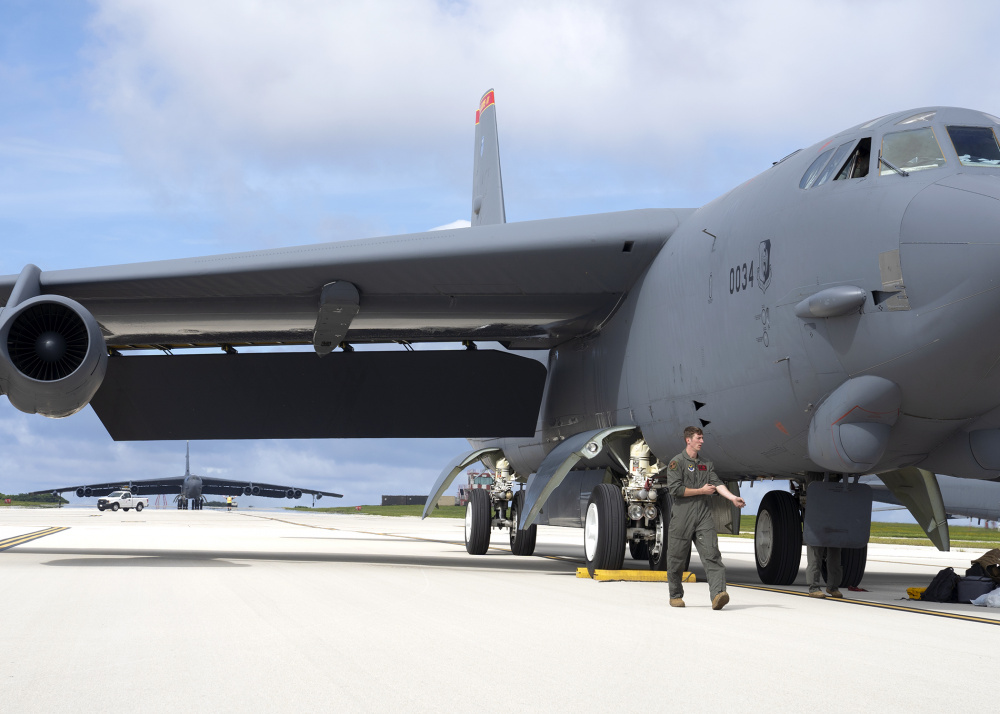 US Air Force B-52 Stratofortresses Deploy to Indo-Pacific in Support of Bomber Task Force