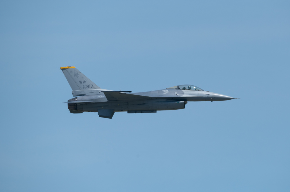 US Air Force PACAF F-16 Demo Team Headed to Alaska with Renewed Demo Certification