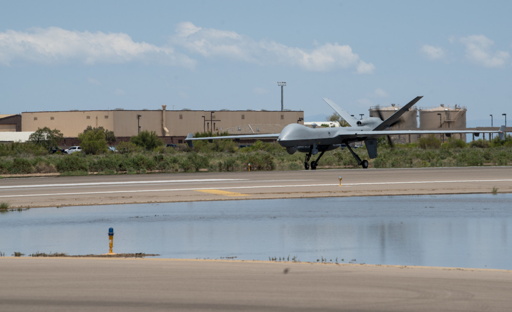 US Air Force Untethered MQ-9 Reaper Demonstrates Automatic Takeoff and Landing Capability (ATLC)
