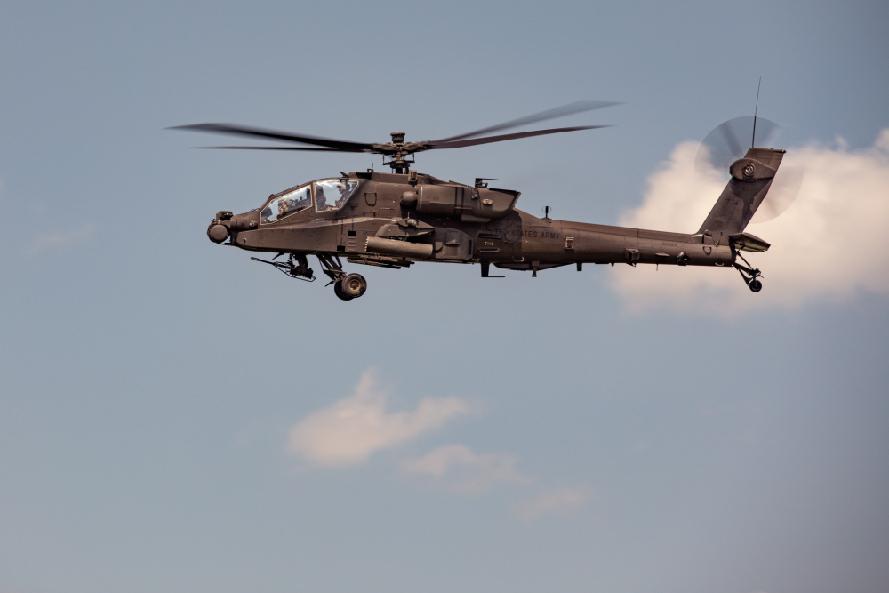 US Army 1st Combat Aviation Brigade (1CAB) Conducts Apache Incentive Flights