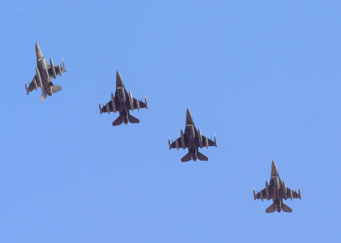 US District of Columbia Air National Guard F-16 Fighters Arrive in Kingdom of Saudi Arabia