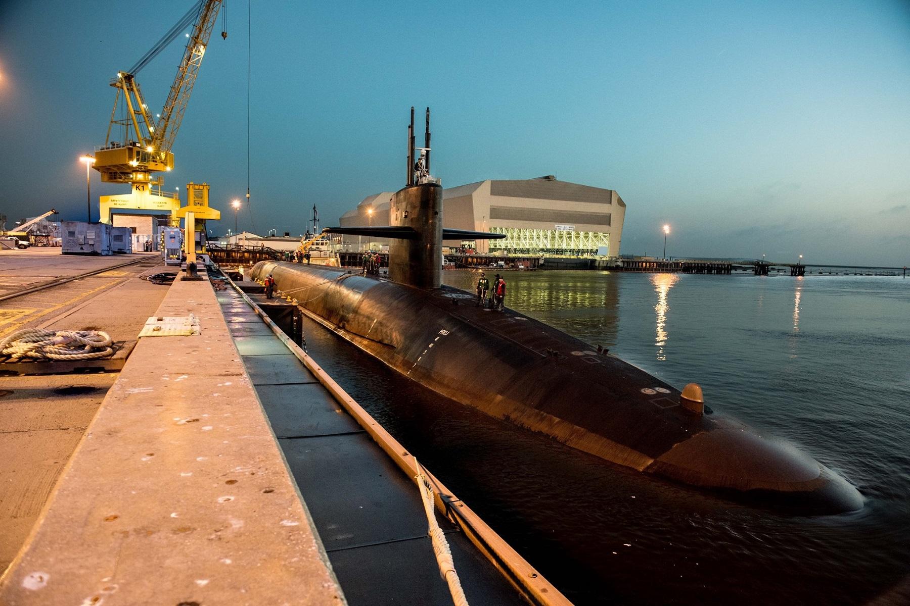 U.S navy Naval Submarine Base Kings Bay