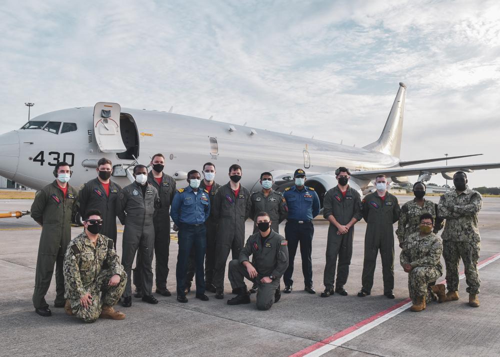 "US Navy Patrol Squadron 10 ""Red Lancer"" Conclude CARAT Sri Lanka 2021"