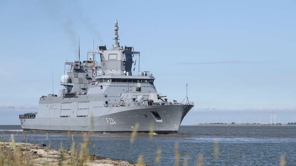 US Navy Takes Delivery of F125 Baden-Württemberg-class Frigate Sachsen-Anhalt (F224)