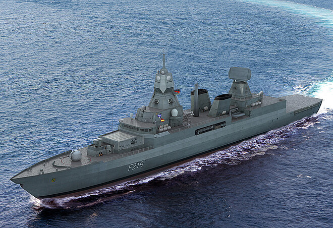 HENSOLDT Awarded Contract to Equip German Navy F124 Frigates with New Ballistic Missile Defence Radars