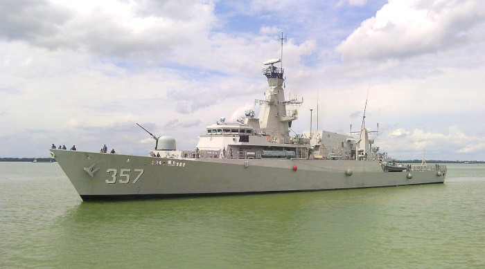 Indonesian Navy KRI Bung Tomo Corvette