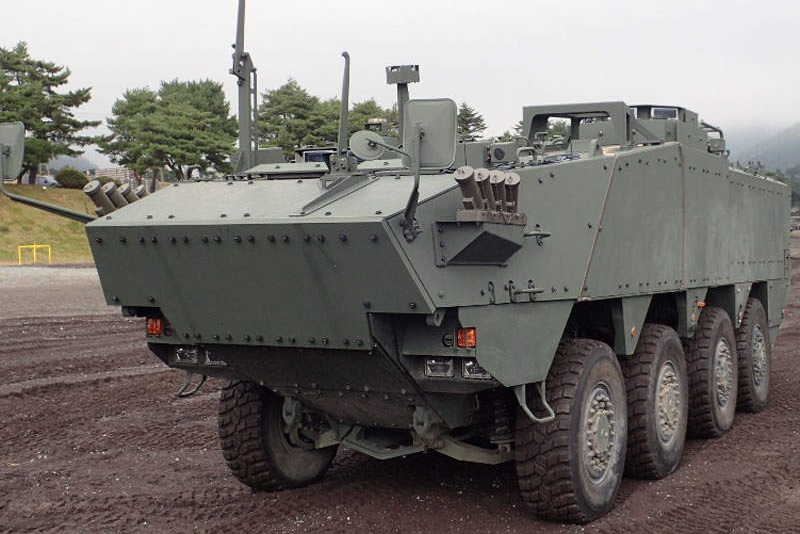 Komatsu Improved Wheeled Armored Personnel Carrier