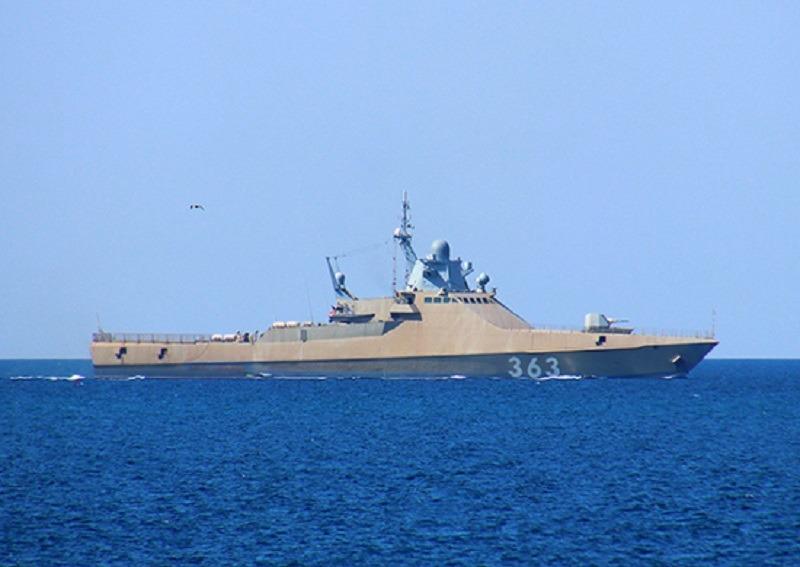 Russian Navy Project 22160 Patrol Ship Pavel Derzhavin (363)