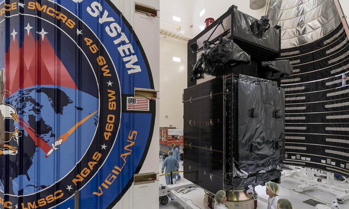 Lockheed Martin's SBIRS GEO-5 missile warning spacecraft