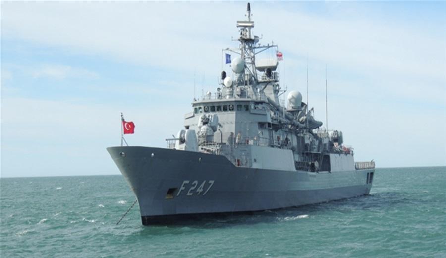 Turkish Navy Barbaros-class frigate TCG Kemalreis (F-247)