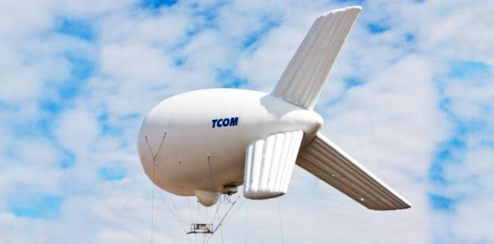 TCOM 12M Tactical Class Aerostat Systems